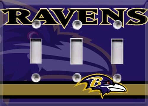 Football Baltimore Ravens Light Switch Cover Choose Your Cover