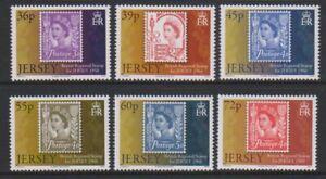 Jersey-2010-Jersey-Postal-Histoire-5th-Series-Ensemble-MNH-Sg-1511-16