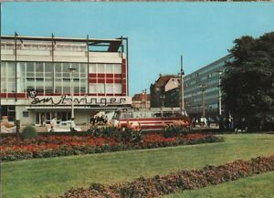 B0111-DRESDEN-Postplatz-Am-Zwinger-Reise-Bus-Auto-1971