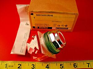 Square-D-9001-KR1RH6-Red-Pushbutton-Switch-9001KR1RH6-KA3-Ser-K-Nib-New