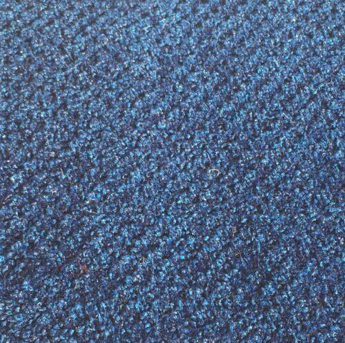 18 oz Navy Textured Cut Pile//Loop MARINE Boat Carpet CLOSEOUT 8ft. x 12ft