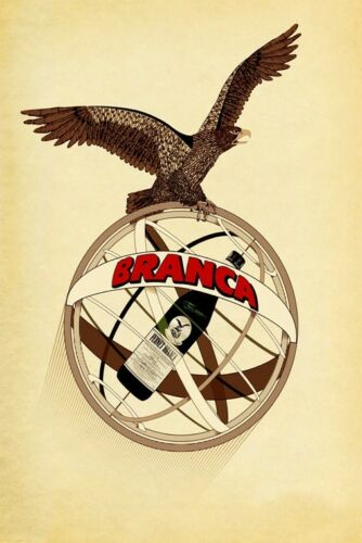 Eagle Fernet Branca Milan Italy Italia Drink Vintage Poster Repro FREE SH