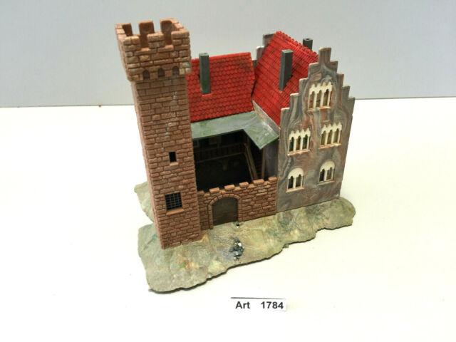 Faller 29201, Burg, Schloss mit Innenhof,Spur N,Maßstab 1:160,sehr selten & RAR