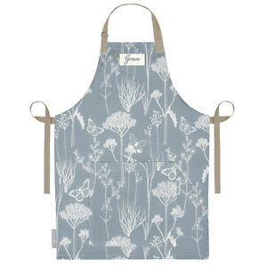 Personalised Apron Linen UK Cooking Kitchen Adult Aprons Women Men ...