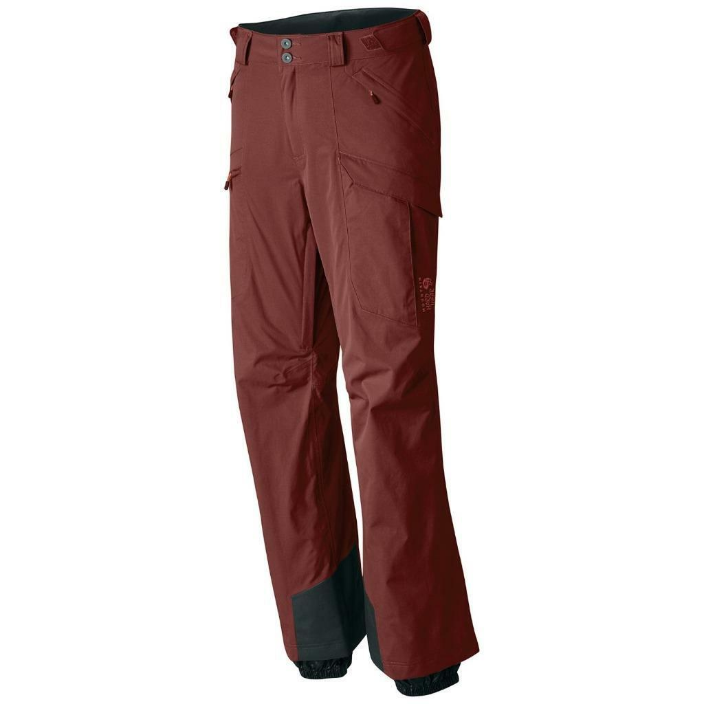 Mens Size XL Mountain Hardwear Returnia Dry.Q  Core Cargo Ski Pants - Waterproof
