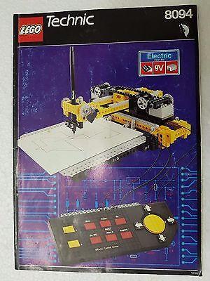 Entusiasta Manuale Istruzioni Lego 8094 Technic - Only Manual