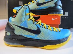 new arrivals 2c2a6 3827e Image is loading Nike-KD-V-N7-NATIVE-AMERICAN-Turq-Blue-