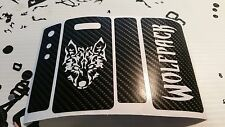 Snow wolf 200 watt skin custom design wolf pack