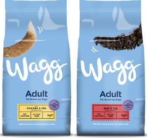 CIBO-per-Cani-Wagg-Complete-per-adulti-POLLO-e-verdure-carne-e-verdure-2-5KG-12KG