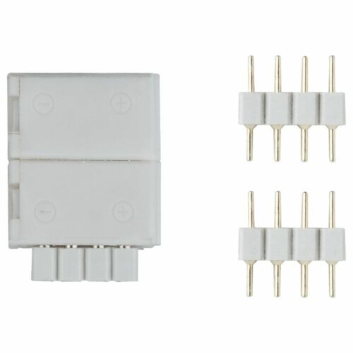 2er-Pack Function YourLED ECO Clip-to-YourLED Connector aus Kunststoff in weiß