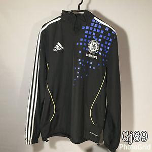 8e0ef0a59ed3 Image is loading Adidas-Chelseas-Football-Club-Tracksuit-Top-34-36