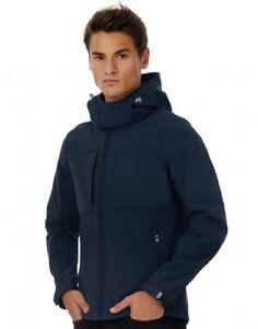 GIUBBINO Giacca uomo Softshell Hooded Softshell/men B&C Taglia M colore black