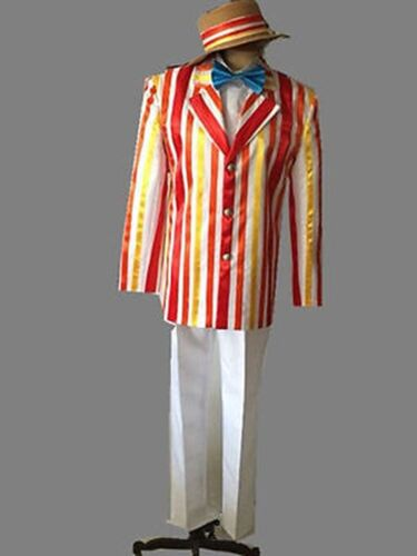 Halloween movie Mary Poppins Bert Cosplay costume fancy party dress HH.39