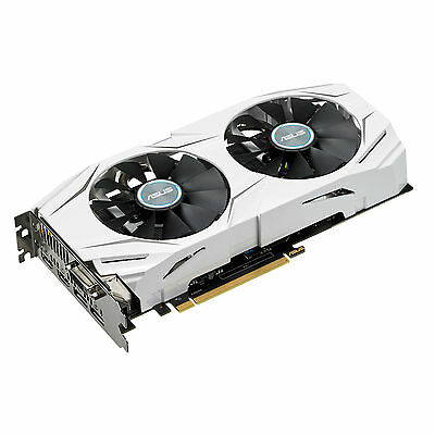 ASUS GeForce GTX 1060 6GB Dual OC Gaming Grafikkarte  (Nvidia, 6GB, GDDR5, PCIe)