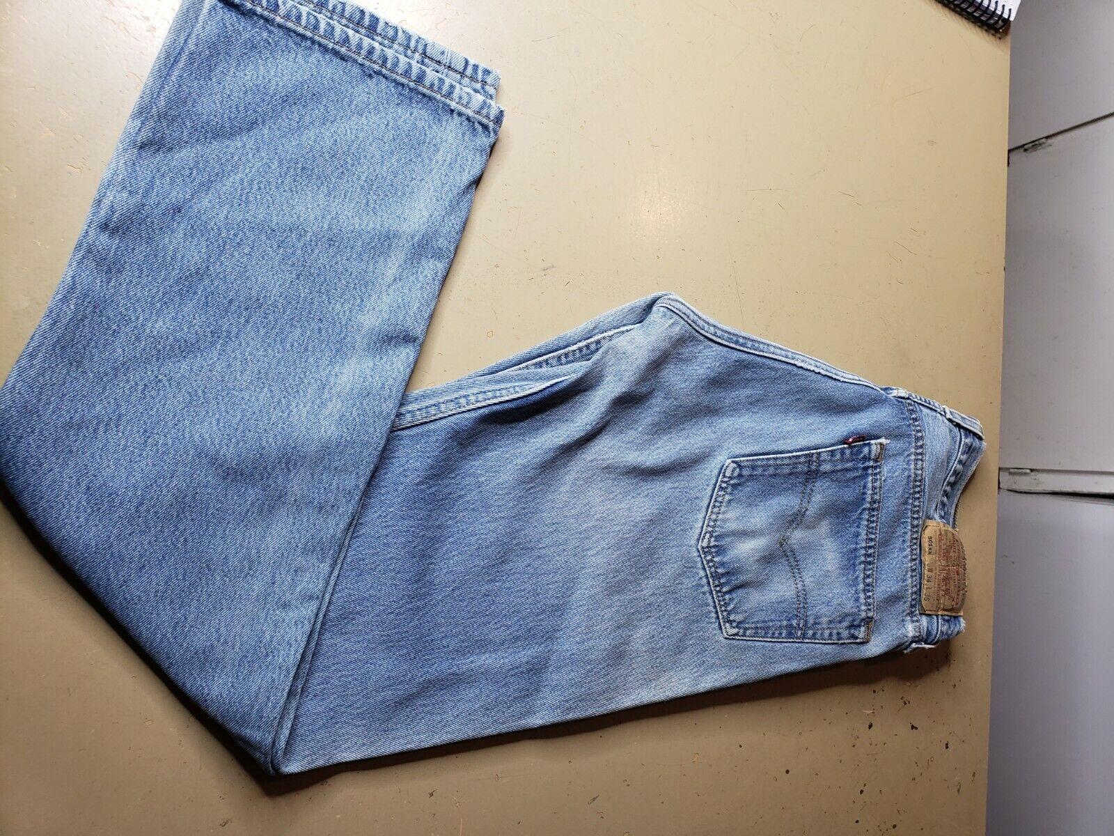 Vintage Levis 501 XX Denim Jeans Made in USA  Sz … - image 1