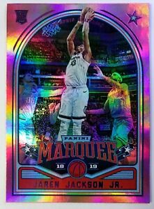2018-Panini-Chronicles-Marquee-Pink-Jaren-Jackson-Jr-Rookie-RC-249-Grizzlies