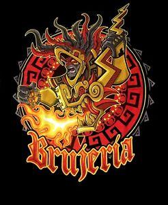 BRUJERIA-cd-lgo-URBAN-AZTEC-Official-SHIRT-XL-New-fear-factory-asesino