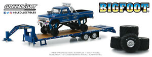 A-s-s-nuevo-GreenLight-1-64-Big-Foot-ford-f-250-Monster-Truck-trailer-Exclusive