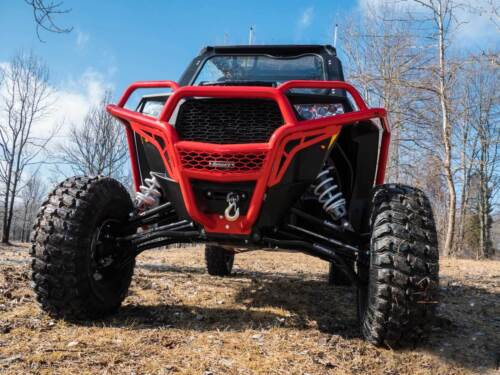 SuperATV High Clearance LOWER A Arms for Polaris RZR XP Turbo BLACK 2016+