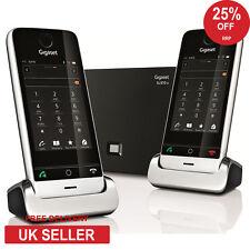 Siemens Gigaset SL910A Doble DECT Teléfono inalámbrico con pantalla táctil con contestador telefónico