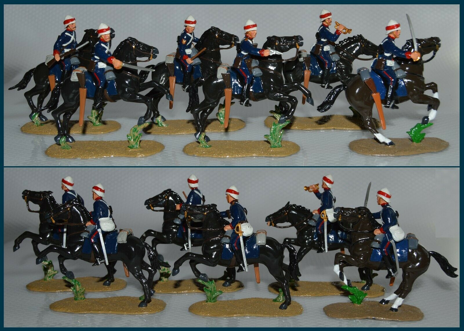 Trophy TS-418 Collection Floca Advancing Guards Horse Royal
