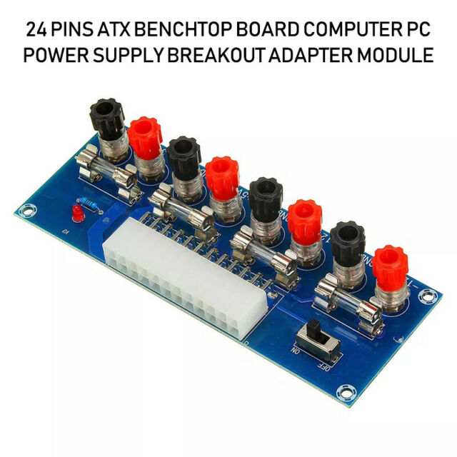 24 Pins Atx Benchtop Board Computer Pc Power Supply