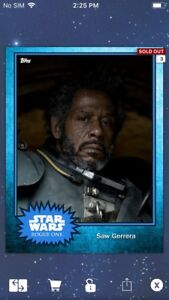 Topps-Star-Wars-Digital-Card-Trader-Blue-Steel-Saw-Gerrera-Base-4-Variant