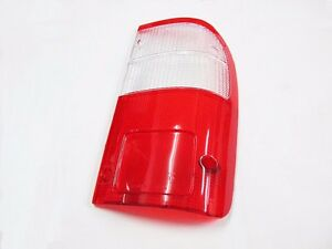 Rear-Tail-light-Lenses-Clear-Red-Lens-Toyota-Hilux-Year-1998-2005-Right-Rh
