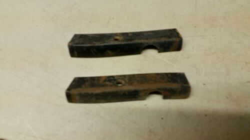 1955-1956-1957 Chevy Wagon Rear Upper Seat Back Painted Side Trim Notched Pass
