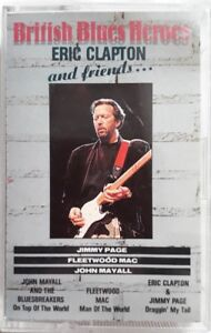 British-Blues-Heroes-Eric-Clapton-And-Friends-Cassette-1990-Woodford-WMMC-4534