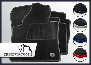 Fiat-Scudo-vorn-100-passform-Fussmatten-Autoteppiche-Schwarz-Silber-Rot-Blau