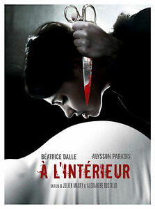 INSIDE aka À l\'intérieur Movie Poster French Horror Extreme Gore ...