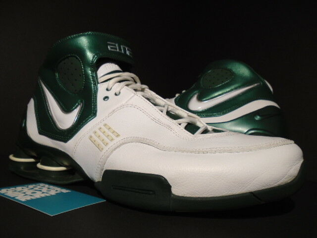 2006 shox elite tbc michigan spartani verde bianco, verde spartani metallizzato bb4 11,5 fe47ba