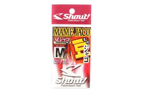 Shout 302-MJ Mame Jaco Ultralight Assist Hook Size M 8 4539