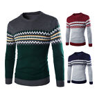 Mens Casual Knitwear Slim Fit Knitted Cardigan Pullover Jumper Sweater Tops Coat