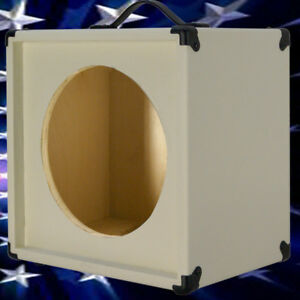 1x12 Guitar Speaker Extension Empty Cabinet Ivory white Texture ...