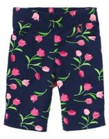 Gymboree Bright Tulip Navy Tulip Capri Pants 18 24 2 3t 4t