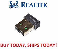 Original Realtek RTL8188 MINI USB WiFi Wireless 802.11B/G/N Card Network Adapter