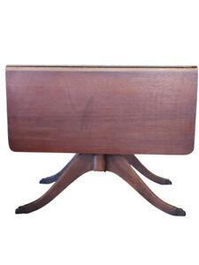 Vintage Estilo Duncan Phyfe Hoja Caida Mesa Caoba 29 5 H Pa5487hh Ebay