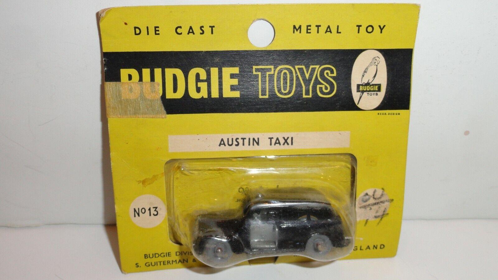 Budgie giocattoli  13 AUSTIN TAXI Bister Pack Nuovo di zecca IN CONFEZIONE