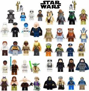 Lego-Star-Wars-Minifiguren-Darth-Vader-Yoda-Mandalorian-Clone-Boba-Fett-Luke