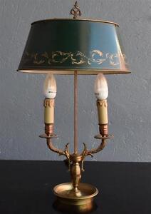 Lampe Bouillotte Style Empire Bronze Dore 1900 Ebay