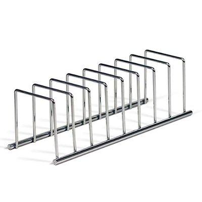 Kitchen Cabinet Dish Organizer Storage Plate Holder Steel ...