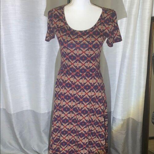 LuLaRoe Unicorn Ana Maxi Dress Size S