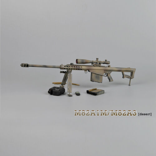"ZYTOYS 1//6 Scale M82A1 Sniping Rifle Desert Model for 12/"" Action Figure"