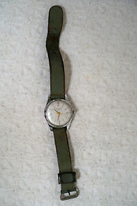 Vintage mens wadsworth wristwatch