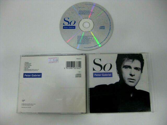 Peter Gabriel CD) So