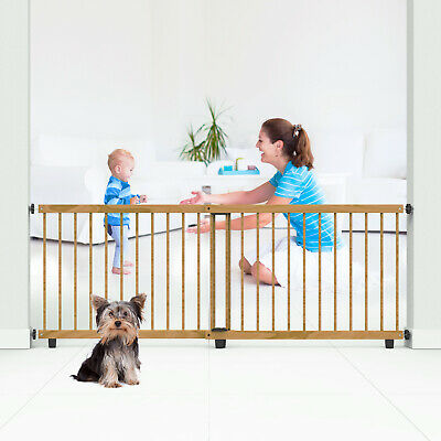 Perma Child Safety Timber Barrier 110-200cm Wide/65cm Tall Pressure Mounted Safety Gates Baby Safety & Health