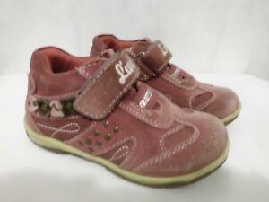 großer Abverkauf Gedanken an attraktive Farbe Details zu Sneaker Mädchen Größe 24 Halbschuhe Bären Schuhe Lila Klett  Turnschihe