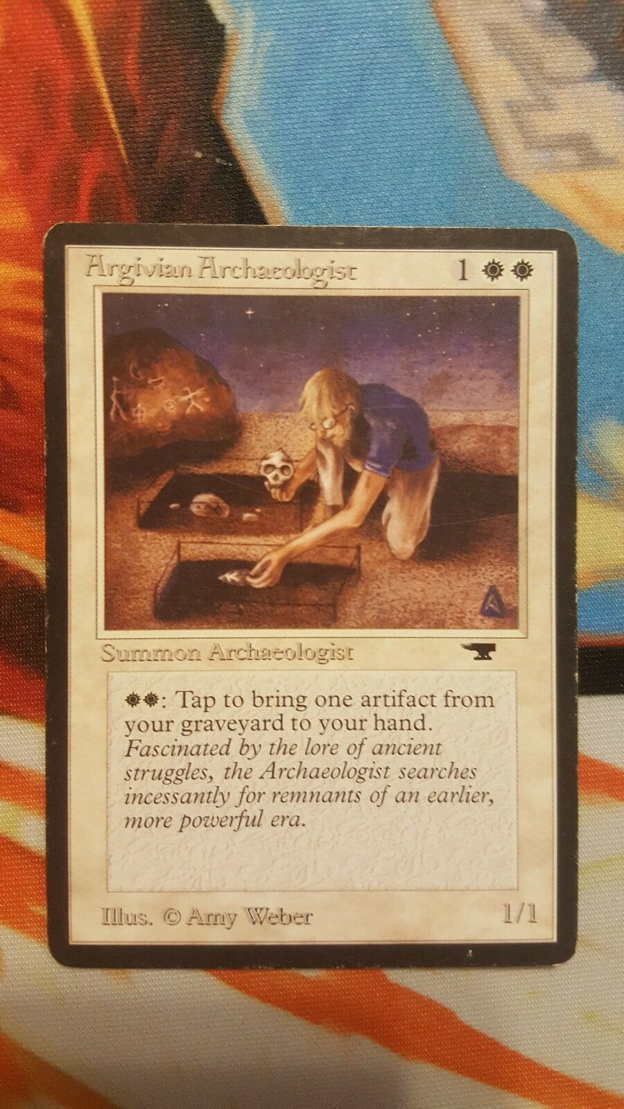 Argivian Archaeologist Magic The Gathering MTG Card - Antiquities -Free Ship 50+